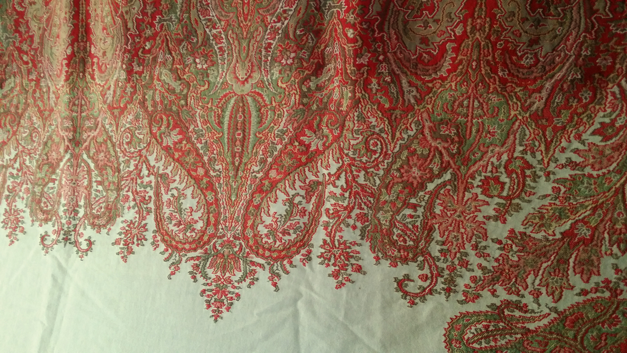 Miscellaneous Gt Paisley Shawl 19th C Paisley Shawl 19th C