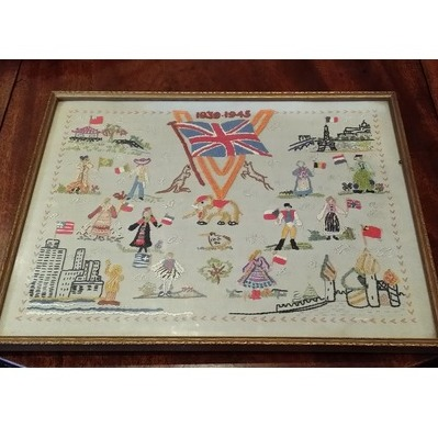 Category single thumb wwii patriotic sampler