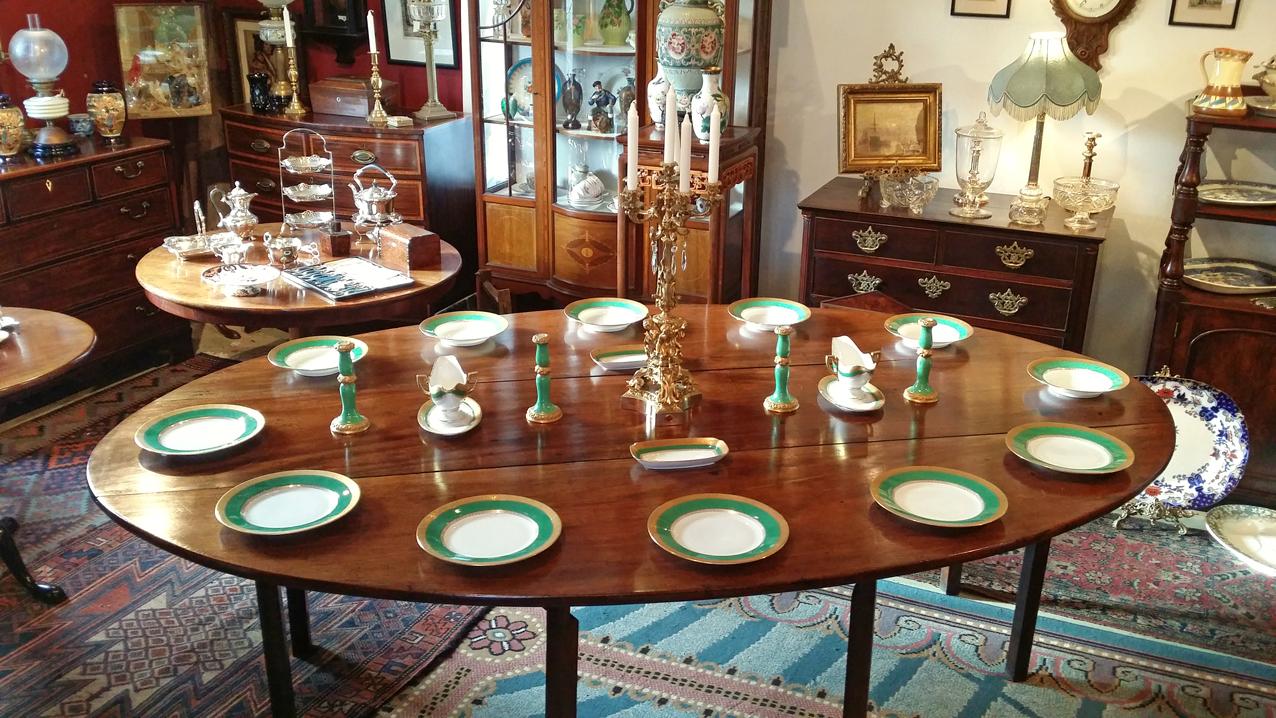 Irish wake table