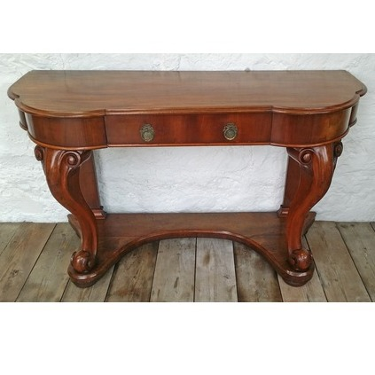Category single thumb console table