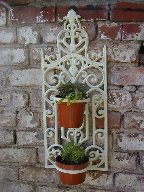 Gardenalia > Wall Mounted Plant Holder Wall Mounted Plant ...