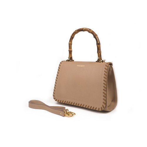 Span6 willique handbag cream side web