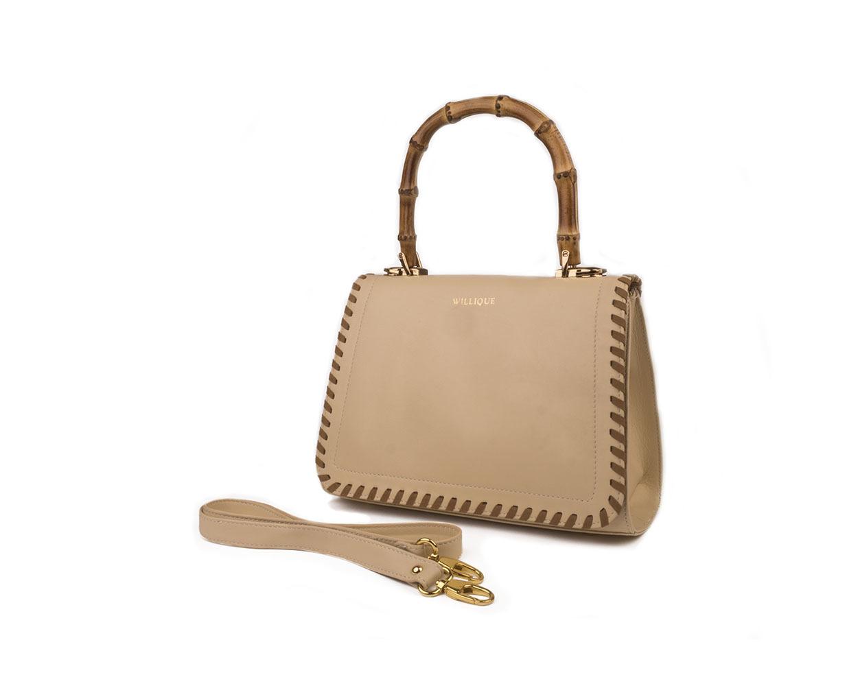 Willique handbag beige side web