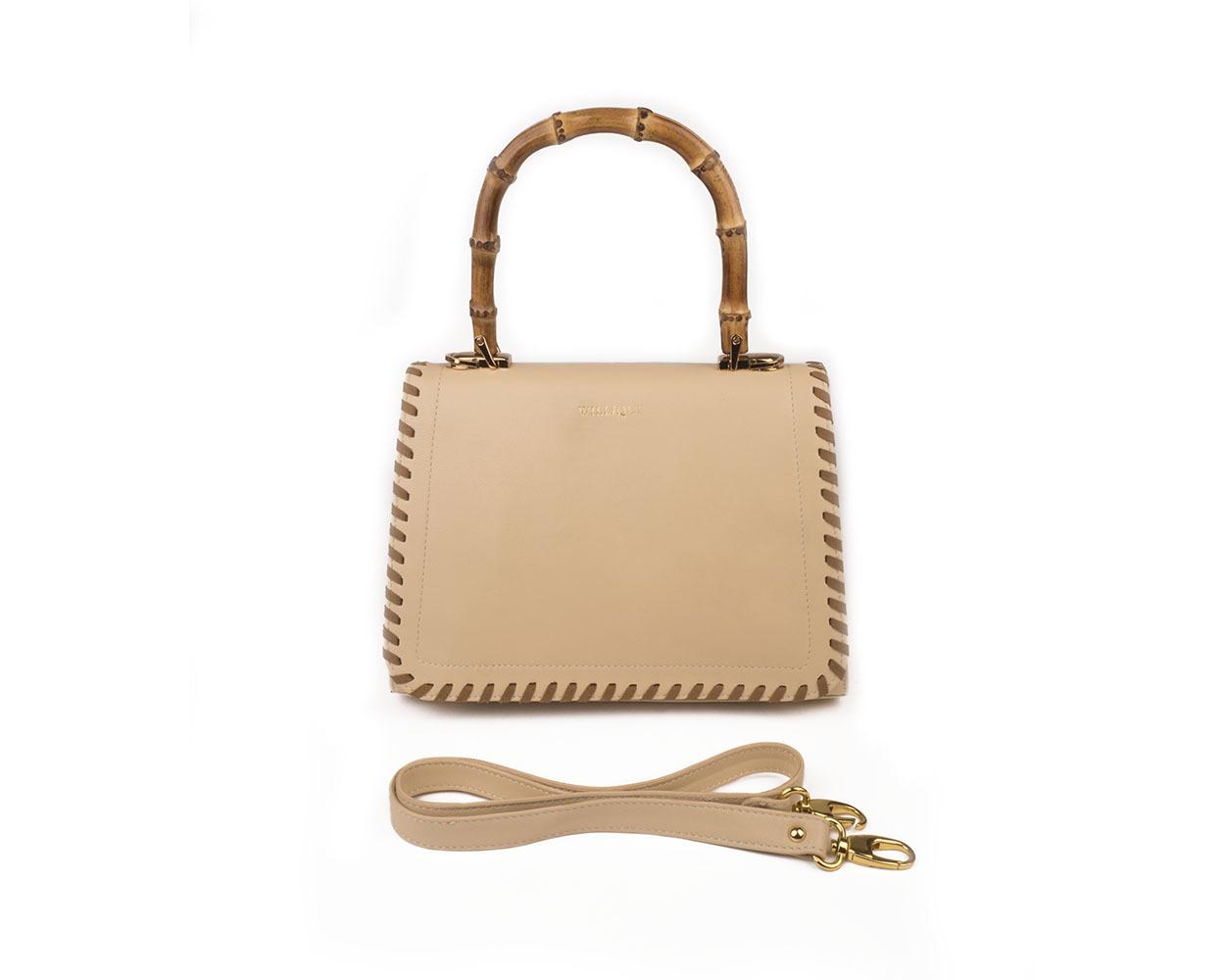 Willique handbag beige front web